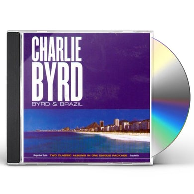 Charlie Byrd BYRD & BRAZIL CD