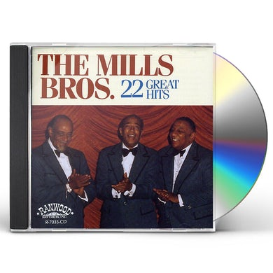 Mills Brothers 22 GREAT HITS CD