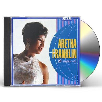 Aretha Franklin   20 GREATES HITS CD