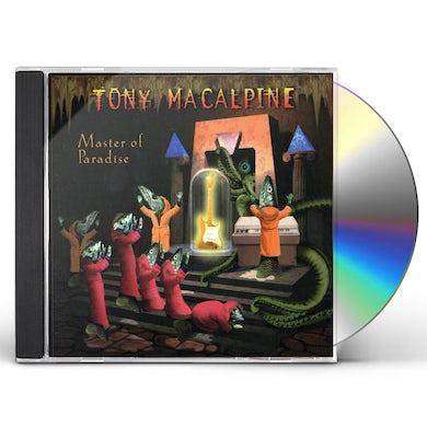 Tony MacAlpine MASTER OF PARADISE CD