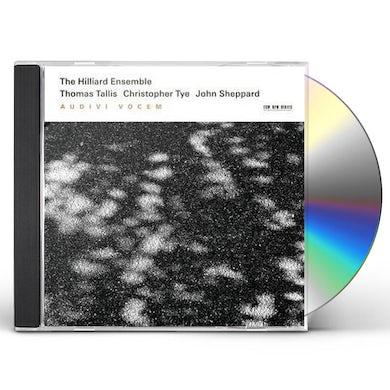 Hilliard Ensemble AUDIVI VOCEM CD