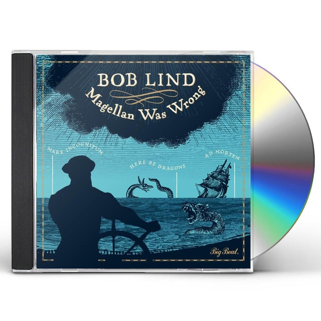 Bob Lind MAGELLAN WAS WRONG CD