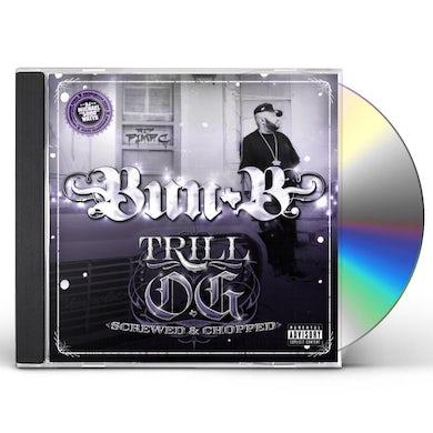 Bun B TRILL O.G. SWISHA HOUSE REMIX CD