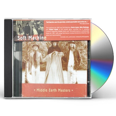 Soft Machine MIDDLE EARTH MASTERS CD