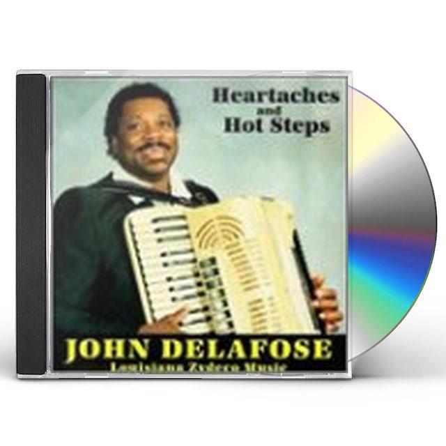 John Delafose HEARTACHES & HOT STEPS CD