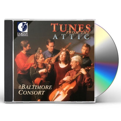 Baltimore Consort TUNES FROM THE ATTIC CD