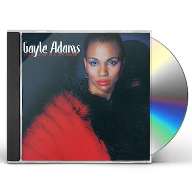 Gayle Adams YOUR LOVE IS A LIFESAVER CD