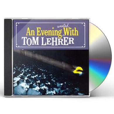 Tom Lehrer EVENING WASTED WITH CD