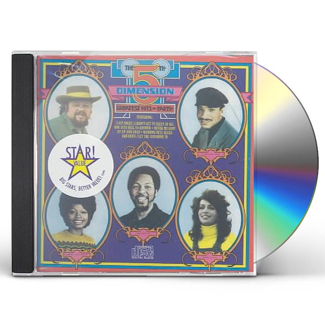 Fifth Dimension GREATEST HITS ON EARTH CD