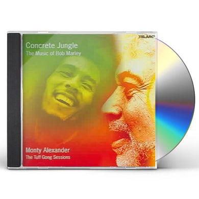 Monty Alexander CONCRETE JUNGLE: THE MUSIC OF BOB MARLEY CD