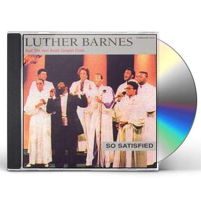 Luther Barnes SO SATISFIED CD