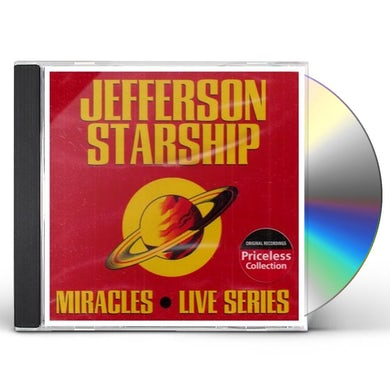 Jefferson Starship MIRACLES: LIVE SERIES CD