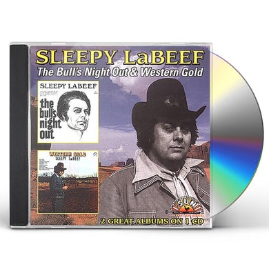 Sleepy LaBeef BULL'S NIGHT OUT / WESTERN GOLD CD