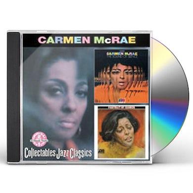 Carmen McRae SOUND OF SILENCE / PORTRAIT OF CARMEN CD