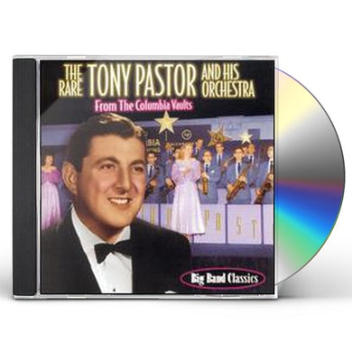 UNCOLLECTED TONY PASTOR: 24 SONG COMPILATION CD