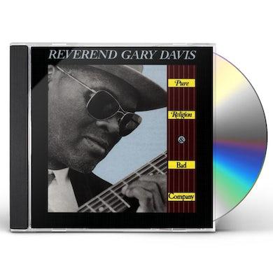 Rev Gary Davis PURE RELIGION & BAD COMPANY CD