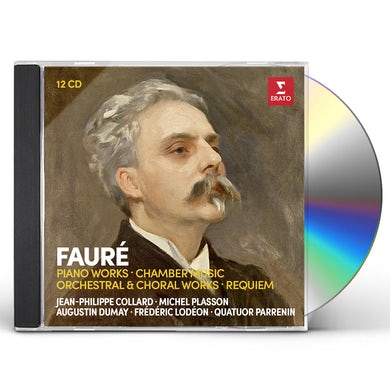 Jean-Philippe Collard FAURE: PIANO WORKS & CHAMBER MUSIC CD