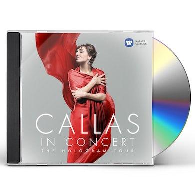Maria Callas CALLAS ON STAGE - HOLOGRAM TOUR CD
