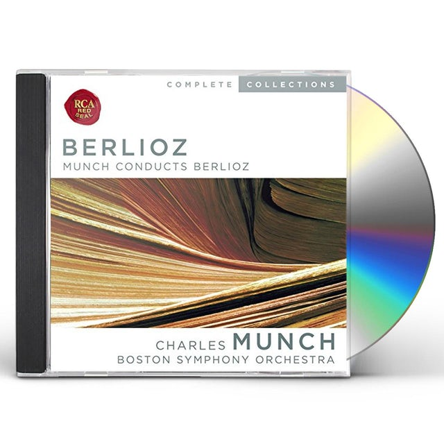CHARLES MUNCH CONDUCTS BERLIOZ CD