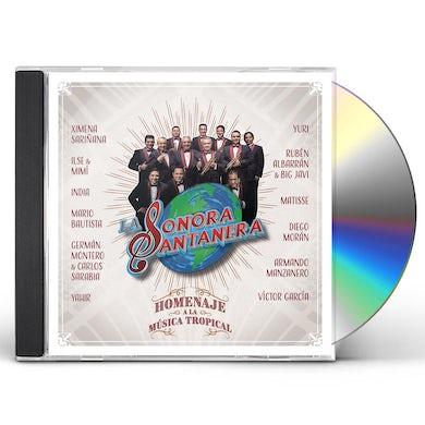 HOMENAJE A LA MUSICA TROPICAL CD