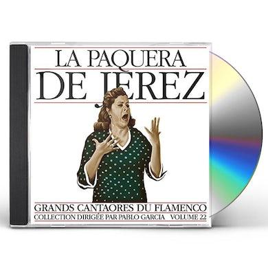 La Paquera De Jerez MASTERS OF FLAMENCO 22 CD