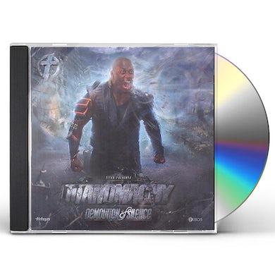 Titan DEMOLITION OF SILENCE CD