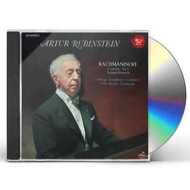 Arthur Rubinstein RACHMANINOFF: PIANO CONCERTO NO. 2 CD