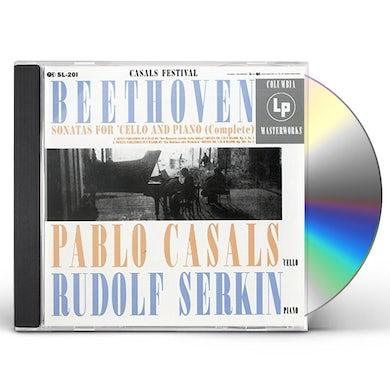 Pablo Casals BEETHOVEN: COMPLETE CELLO SONATAS CD