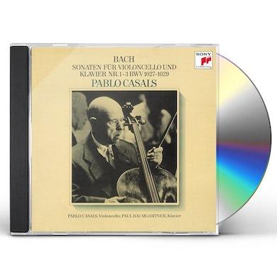 Pablo Casals J. S. BACH: CELLO SONATAS CD