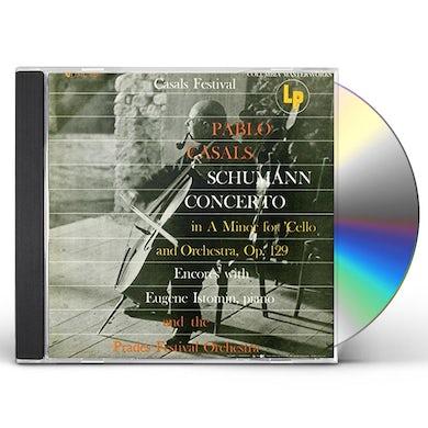 Pablo Casals SCHUMANN: CELLO CONCERTO & SHOWPIECE CD