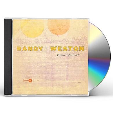 Randy Weston PIANO A-LA-MODE CD