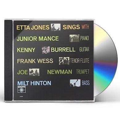 Etta Jones SINGS WITH JUNIOR MANCE & KENNY CD