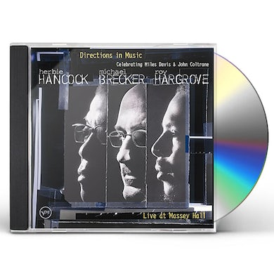 Michael Brecker DIRECTIONS IN MUSIC: LIVE AT MASSAY HALL CD
