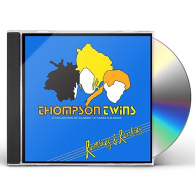 Thompson Twins REMIXES & RARITIES:COLLECTION OF CLASSIC 12 CD