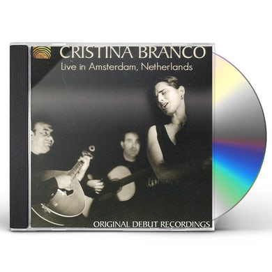 Cristina Branco LIVE IN AMSTERDAM NETHERLANDS CD