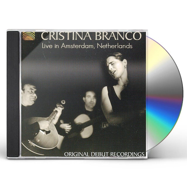 Cristina Branco LIVE IN AMSTERDAM NETHERLANDS CD