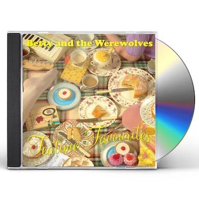 Betty & Werewolves TEA TIME FAVOURITES CD