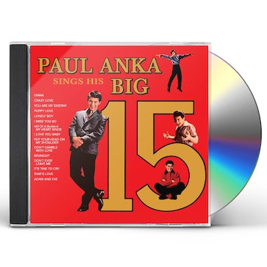 PAUL ANKA'S SINGS HIS BIG 15 CD
