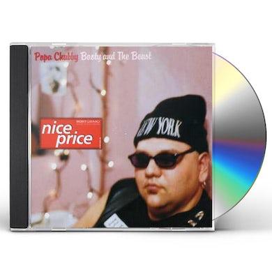 Popa Chubby BOOTY & BEAST CD
