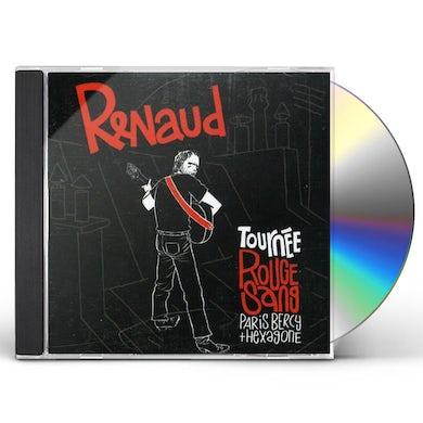 Renaud TOURNEE ROUGE SANG CD