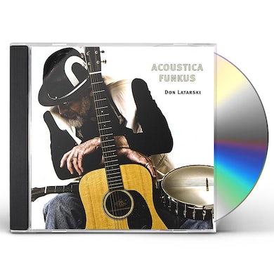 Don Latarski ACOUSTICA FUNKUS CD