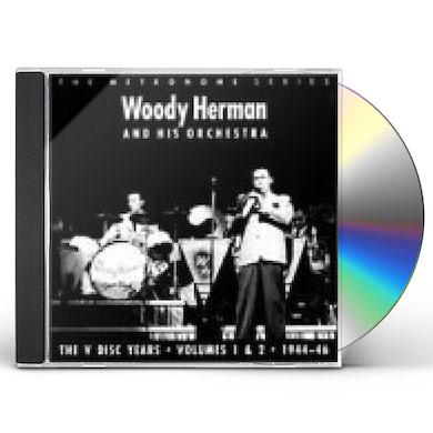 Woody Herman V-DISC YEARS 1 & 2: 1944-46 CD