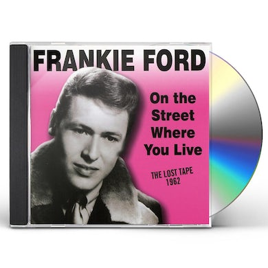 Frankie Ford ON THE STREET WHERE TOU LIVE CD