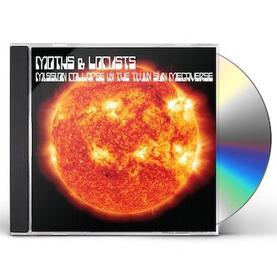 Moths & Locusts MISSION COLLAPSE IN THE TWIN SUN MEGAVERSE CD