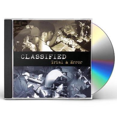 Classified TRIAL & ERROR CD