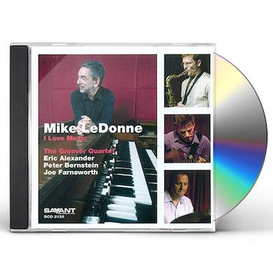 Mike Ledonne I LOVE MUSIC CD