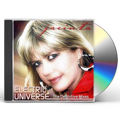 Jacinta ELECTRIC UNIVERSE-THE DEFINITIVE MIXES CD