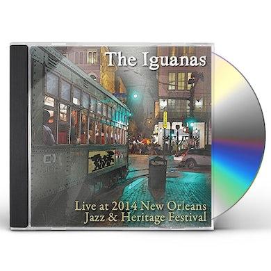 Iguanas LIVE AT JAZZ FEST 2014 CD