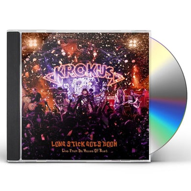Krokus LONG STICK GOES BOOM: LIVE FROM DA HOUSE OF RUST CD