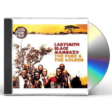 Ladysmith Black Mambazo PURE & THE GOLDEN CD